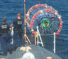 Fla. man's 'hydro pod' trip to Bermuda cut short