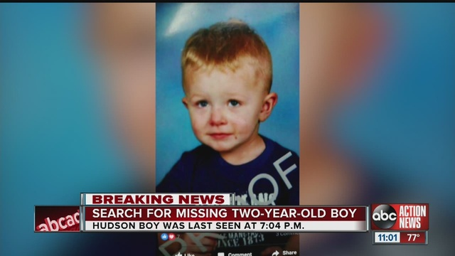 Missing 2 year old boy from pasco story abcactionnews com tampa