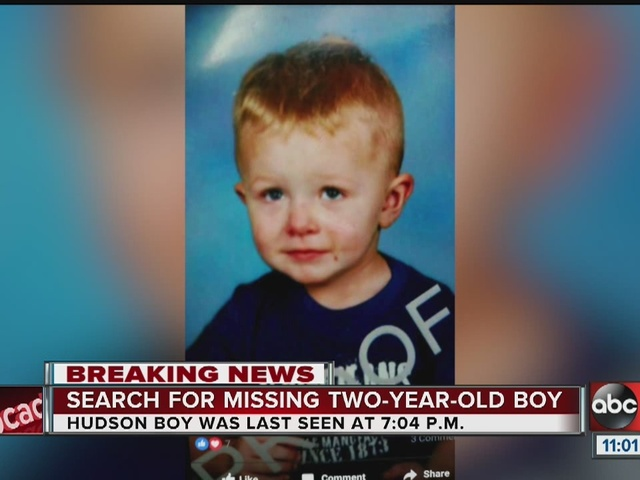 MISSING: 2-year-old boy from Pasco