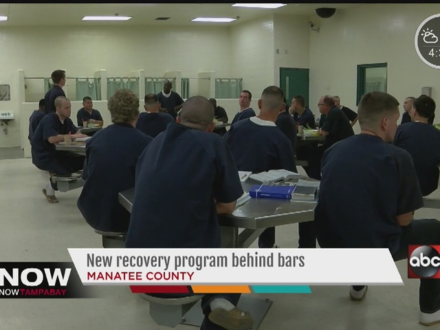 Manatee County Jail offers inmates recovery program behind bars