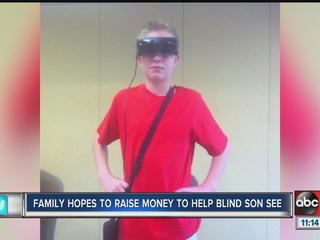 Family raising money to give gift of sight