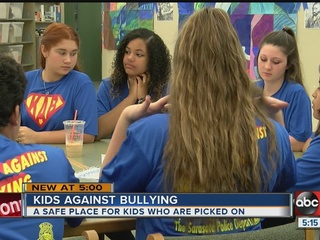 Students create program to stop bullying
