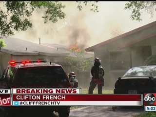 Fire engulfs two homes in St. Petersburg