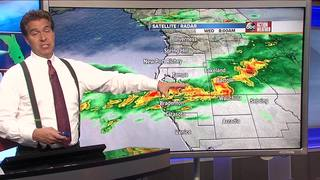 FORECAST: Cooler and drier weather moving in