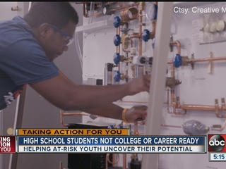 Program helping at-risk youth find career path