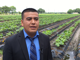 Migrant farmworker to graduate from PSC