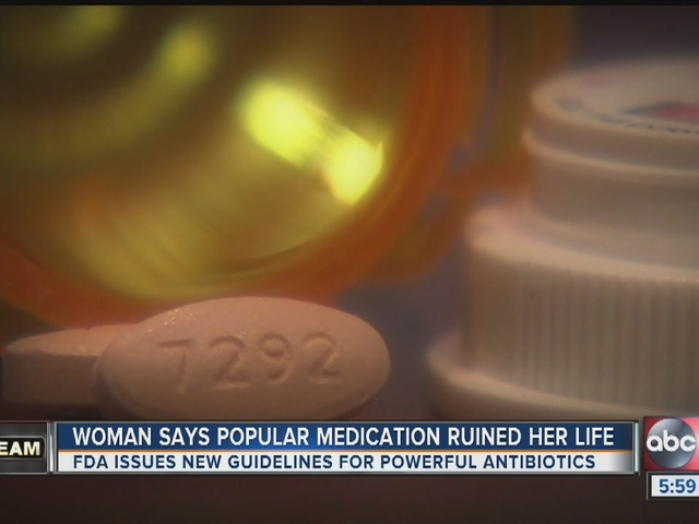 FDA announces warnings for most commonly prescribed antibiotics - Levaquin and Cipro - Story | abcactionnews.com | Tampa Bay News, Weather, Sports, Things To Do | WFTS-TV