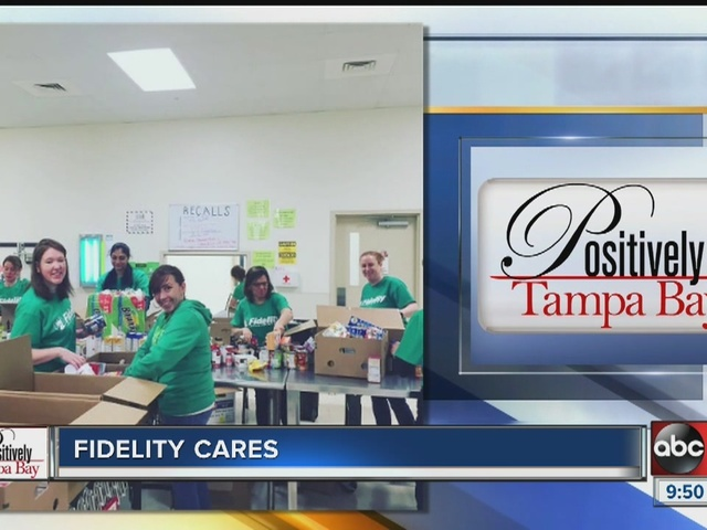 Positively Tampa Bay: Fidelity Cares