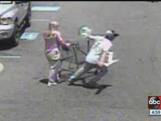 Polk purse snatching caught on camera