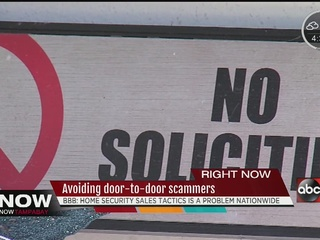 BBB warns of spike in home alarm scams