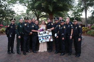 Officers escort daughter of slain ofcr to prom
