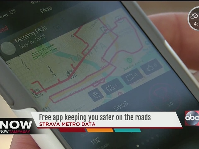Free app to find safer bike, walk routes in Tampa