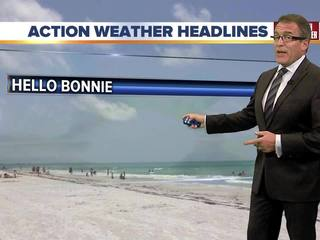 FORECAST: Only a few isolated storms