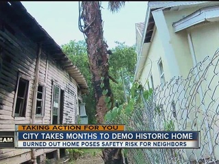 Emergency demolition ordered for historic home