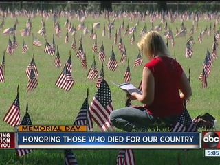 WATCH: Honoring those who died for our country