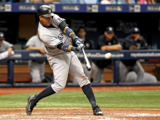 Rays 1-hit Yankees, lose on Castro's 2-run homer