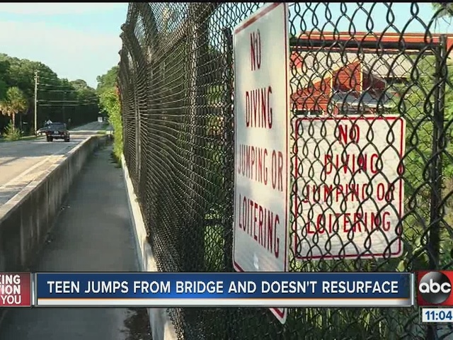 Teen killed after jumping off bridge near Rogers Park in Hernando County