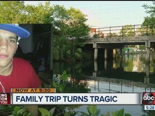 Family says water swept away teen in Weeki Wachi