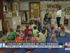 Huge demand for childcare workers in Tampa Bay