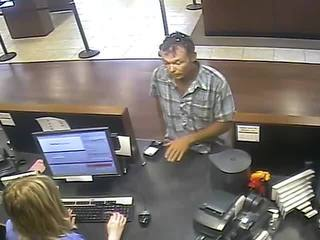 Bradenton police searching for bank robber
