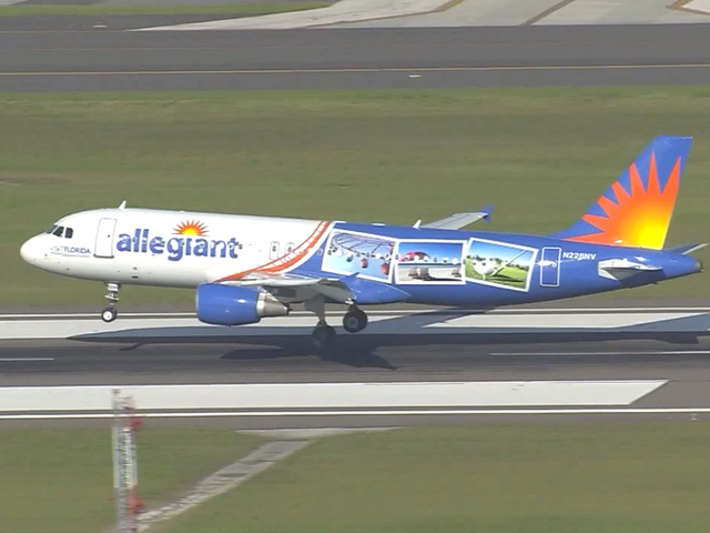 Allegiant adds nonstop flights to Orlando, Fort Meyers