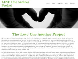 Love One Another Project