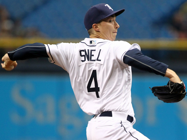 blake snell struggles in 1st home start tampa bay rays
