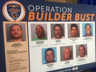 Undercover sting leads to contractor arrests