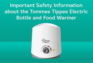 Recall: Tommee Tippee bottle and food warmer