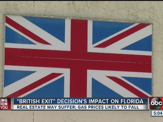 """What does the """"Brexit"""" mean for Tampa Bay?"""