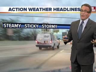 FORECAST: Warm, humid with afternoon storms
