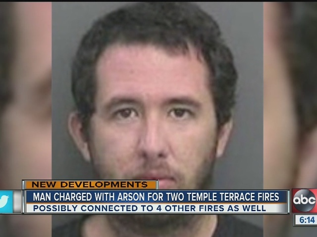 Man charged with setting fire to youth sports facilities
