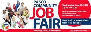 Major job fair today in Pasco County
