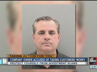 Investment company owner charged with fraud