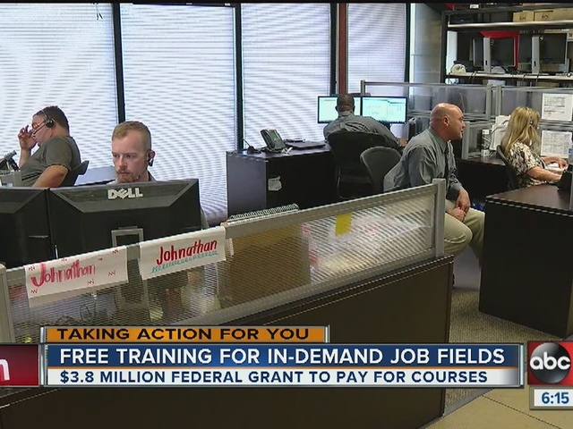 Tampa wins $3.8M grant to train new technology workers