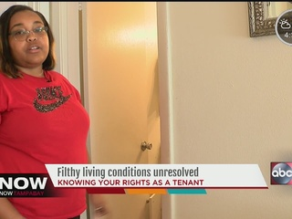 Woman seeks help to fix awful conditions