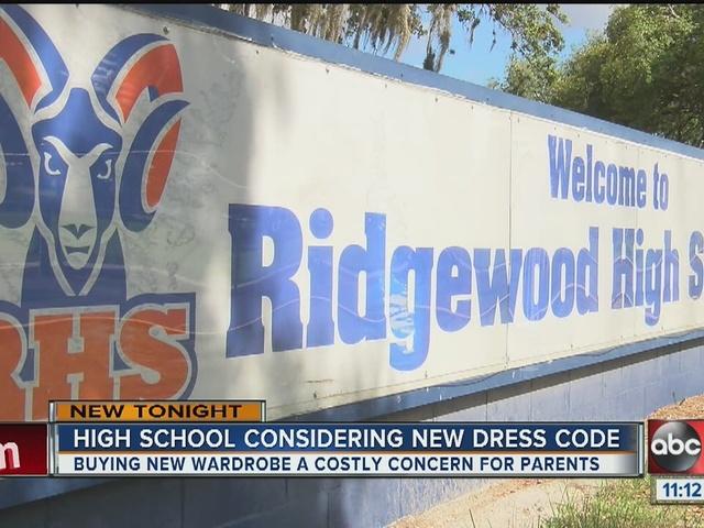 Ridgewood High considering strict dress code
