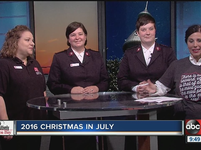 Positively Tampa Bay: Christmas in July