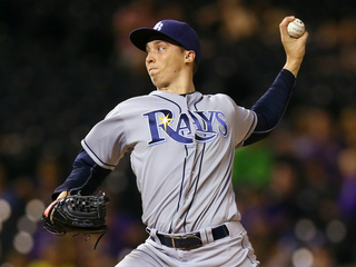 Snell tosses 6 strong innings; Rays win 10-1