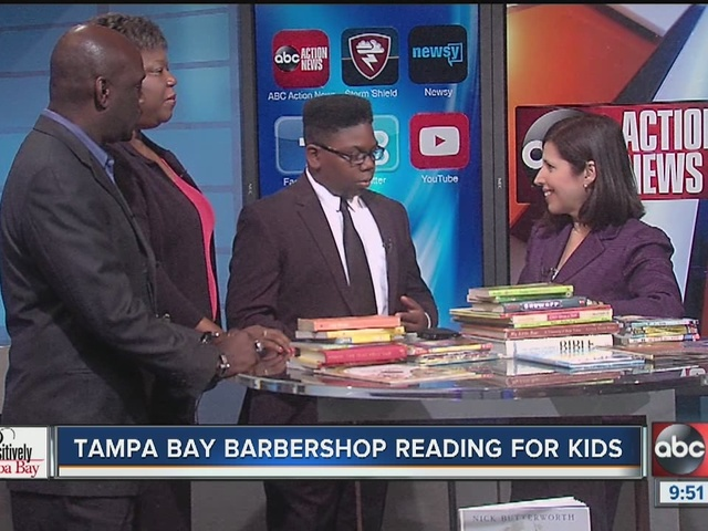 Positively Tampa Bay: Barbershop Reading