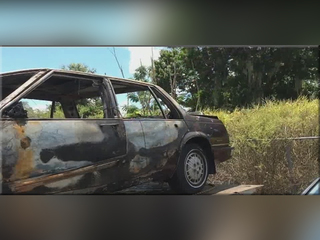 Thieves steal veteran's car, sets it on fire
