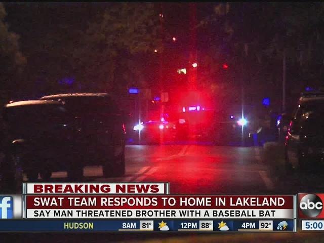 Lakeland SWAT standoff