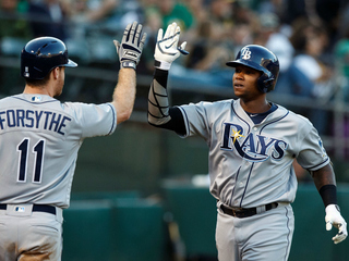 Tim Beckham leads Rays to 7-3 victory over A's