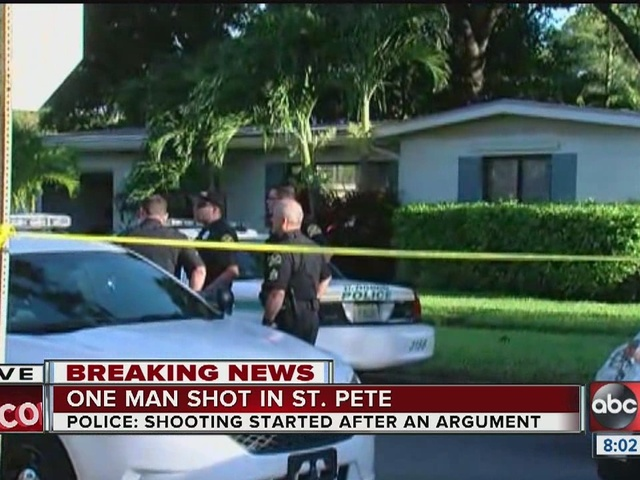 Homeowner shot on 36th Ave N. in St. Pete