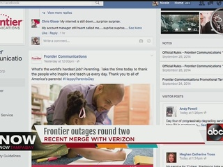Frontier says issues fixed after network problem