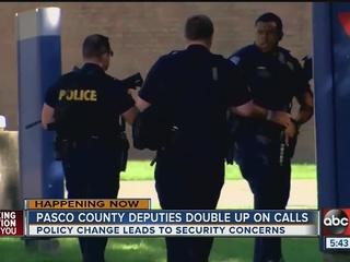 Pasco deputies double up responding to calls