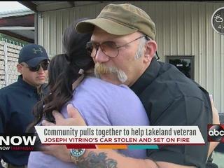 Viewers help disabled Polk vet get new car