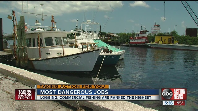 Some good paying jobs in the bay area come with a risk for Commercial fishing jobs