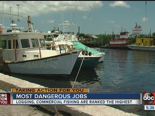 Most dangerous jobs in the Bay area
