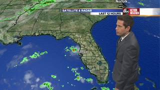FORECAST:  Storm coverage drops for a few days